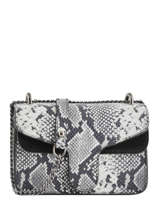 Crossbody Bag Python Milano Black python PI19031