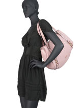 Sac Shopping It Bag Liu jo Argent adv A19202-vue-porte