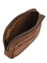 Messenger Bag Foures Brown 9105-vue-porte