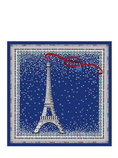 Longchamp Autres lignes Foulard Bleu