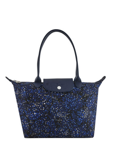 Longchamp Le pliage fleurs Hobo bag Blue