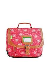 Satchel 1 Compartment Tann's Pink fantaisie fille 32269