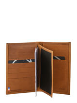 Wallet Leather Etrier Brown western 47830-vue-porte