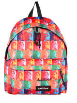 Sac à Dos 1 Compartiment Eastpak Multicolore pbg andy warhol PBGK620A