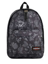 Backpack A4 + 15'' Pc 1 Compartment Eastpak Black pbg authentic PBGK767