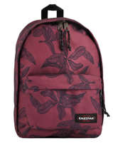 Backpack Out Of Office + 15'' Pc Eastpak Red pbg authentic PBGK767