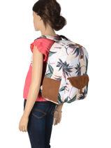 Backpack 1 Compartment Roxy Black back to school RJBP3968-vue-porte
