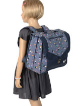 Satchel Roxy Black kids RLBP3038-vue-porte