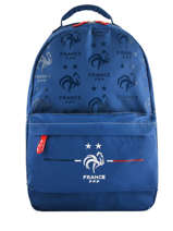Sac à Dos Federat. france football Bleu equipe de france 193X204B