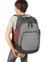 Backpack Special With Matching Pencil Case Quiksilver Black youth access QYBP3556-vue-porte