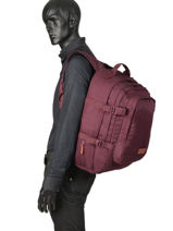 Backpack Volker Eastpak Red pbg core series PBGK207-vue-porte