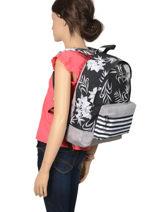 Backpack Sugar Baby Roxy Black back to school RJBP3958-vue-porte