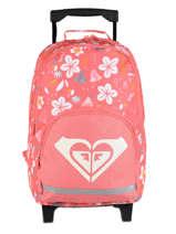 Wheeled Backpack Roxy Black kids RLBP3039