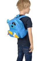 Backpack Mini Animal Green kids KIDNI00-vue-porte