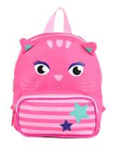 Backpack Mini Animal Pink kids KIDNI00