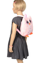 Backpack Mini Animal Black kids KIDNI02-vue-porte
