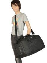 Cabin Duffle Luggage Quiksilver Black luggage QYBL3176-vue-porte