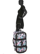 Travel Bag Luggage Roxy Black luggage RJBL3169-vue-porte