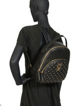 Backpack Creativa Liu jo Black creativa A69139-vue-porte