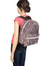 Backpack Milky Kiss Kidzroom Pink milky kiss 37-0109-vue-porte