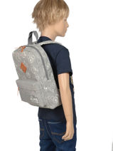 Backpack Mickey 90th Anniversary Mickey Gray 90th anniversary 88-9348-vue-porte