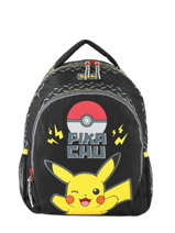 Backpack Electric Pokemon Black electric 160-9602