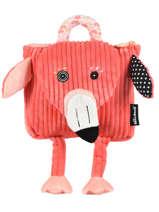 Mini Backpack Globe Trotoys Les deglingos Black globe trotoys 350