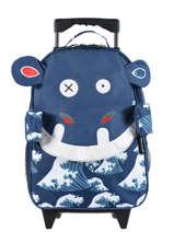 Kids' Luggage Les deglingos Black globe trotoys 314