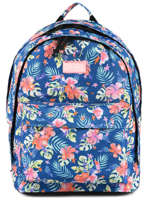 Backpack 2 Compartments Rip curl Blue toucan flora LBPQQ4