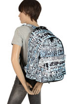 Backpack 2 Compartments Rip curl Blue cover up BBPMP4-vue-porte
