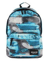 Backpack 1 Compartment Rip curl Blue photo script BBPMX4