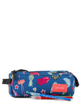 Trousse 2 Compartiments Rip curl Bleu summer time LUTGD4-vue-porte