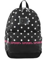 Backpack 1 Compartment Superdry Black backpack woomen G91903JT