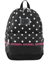 Sac à Dos 1 Compartiment Superdry Noir backpack woomen G91903JT
