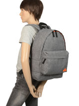 Backpack 1 Compartment Quiksilver Gray youth access QYBP3579-vue-porte