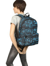 Backpack 1 Compartment With Matching Pencil Case Rip curl Blue frame deal BBPNX4-vue-porte