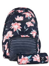 Backpack Shadow With Matching Pencil Case Roxy Blue back to school RJBP3953