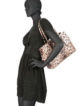 Shoulder Bag Carys Guess Multicolor carys LG740323-vue-porte