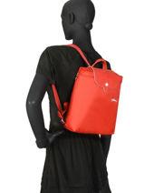 Longchamp Le pliage club Sac à dos Noir-vue-porte