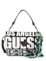 Shoulder Bag Analise Guess Black analise VP740521