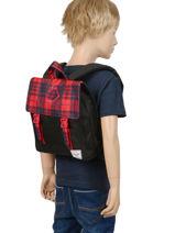 Backpack Mini Herschel Black youth 10142-vue-porte