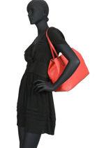 Shoulder Bag Vikky Guess Pink vikky SP699523-vue-porte