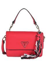 Shoulder Bag Analise Guess Red analise VG740521