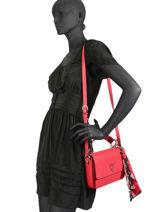 Shoulder Bag Analise Guess Red analise VG740521-vue-porte