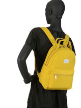 Backpack 1 Compartment Herschel Yellow classics woman 10502-vue-porte