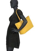 Shoulder Bag L.12.12 Concept Lacoste Yellow l.12.12 concept NF1888PO-vue-porte