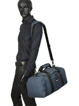 Cabin Duffle Pbg Authentic Luggage Eastpak Blue pbg authentic luggage PBGK10B-vue-porte