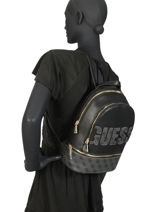 Backpack Skye Guess Black skye SC741133-vue-porte