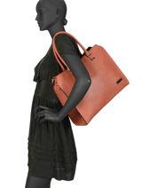 Shopper Gallantry Red M9216-vue-porte