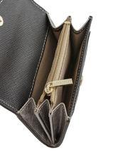 Porte-monnaie Cuir Lancaster Noir signature 127-01-vue-porte